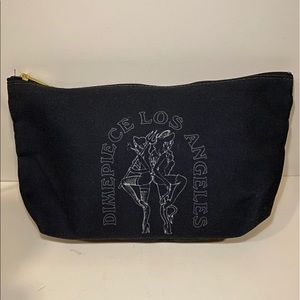 Dimepiece LA makeup bag
